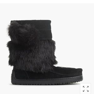 J. Crew Shoes - Manitobah for J.Crew faux-fur mukluks